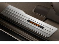 Nissan Quest Illuminated Kick Plates - Aluminum;Grey - G6950-1JA0B