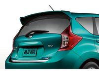 Nissan Versa Note Rear Roof Spoiler - Color Matched;K23 - Brilliant Silver - 999J1-4ZK23