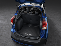 Nissan Kicks Cargo Area Protector - Rubber, Black - 3N3C3-5RB0A