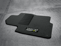 Nissan Frontier Floor Mats, Carpeted, King Cab - Pro-4X (3-Piece / Charcoal) - 999E2-BZ110