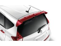 Nissan Versa Note Rear Roof Spoiler NAH - Cayenne Red - 999J1-44NAH