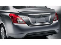 Nissan Versa Rear Trunk Spoiler B17 - Metallic Blue - K6030-3AN7J