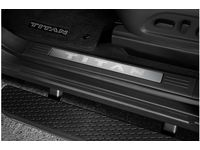 Nissan Titan Kick Plate - Aluminum Insert Door Sill Plates (2 Pc Front Only) King Cab - 999G6-W3101