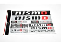 Nissan Versa Note Nismo Sticker Set - 99992-RN237