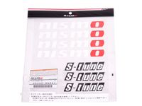 Nissan Frontier Nismo S-Tune Sticker Set - White - 99992-RN241