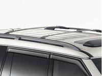 Nissan Armada Roof Rail Cross Bars - Dark Gray (2-piece set) - T99R1-5ZW0A
