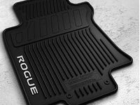 Nissan Rogue All-Season Floor Mats (4-piece / Black) - 999E1-G2000