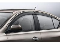 Nissan Versa Side Window Deflectors Front and Rear Set (4-piece) - H0800-3BA00