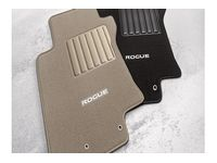 Nissan Rogue Carpeted Floor Mats  - Beige - 999E2-G2001