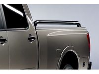 Nissan Titan Chrome Bed Tube Rails(King Cab (Chromed)) - 999T7-WQ900KC