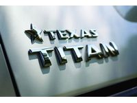 Nissan Titan Texas Titan Rear Tail Gate Badge - 999D1-WR000