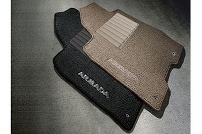 Black Nylon Carpet Coverking Custom Fit Front Floor Mats for Select Bentley Corniche Models