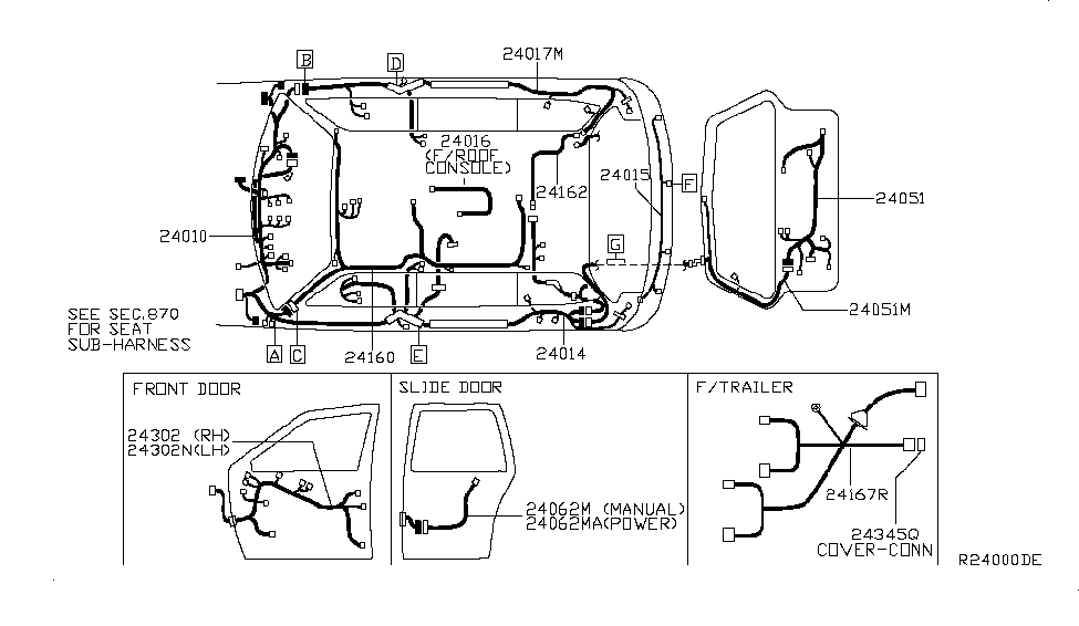 Circuit Electric For Guide: 2007 nissan quest engine diagram