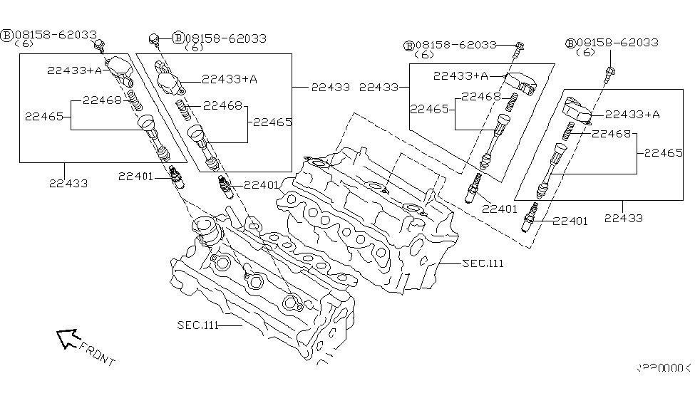 Nissan 22448-8J115