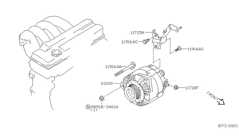 2004 Nissan Quest Alternator ~ Perfect Nissan