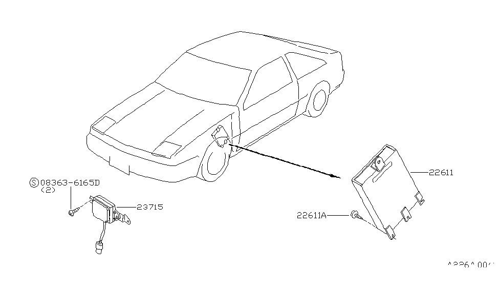 1986 Nissan 200SX Engine Control Module - Nissan Parts Deal on 1995 nissan 240sx wiring diagram, 1986 nissan 300zx wiring diagram, 1986 nissan 200sx transmission, 1991 nissan 240sx wiring diagram, 1997 nissan 240sx wiring diagram, 1985 nissan 300zx wiring diagram, 1990 nissan 240sx wiring diagram, 1993 nissan 240sx wiring diagram, 1986 nissan hardbody wiring diagram, 1996 nissan 240sx wiring diagram, 1997 nissan quest wiring diagram, 1989 nissan 240sx wiring diagram, 2009 nissan cube wiring diagram, 1986 nissan sentra wiring diagram, 2007 nissan armada wiring diagram, 2004 nissan armada wiring diagram,