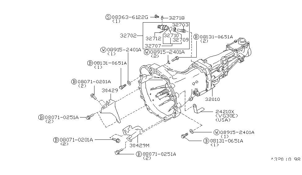 Nissan 32703-78104