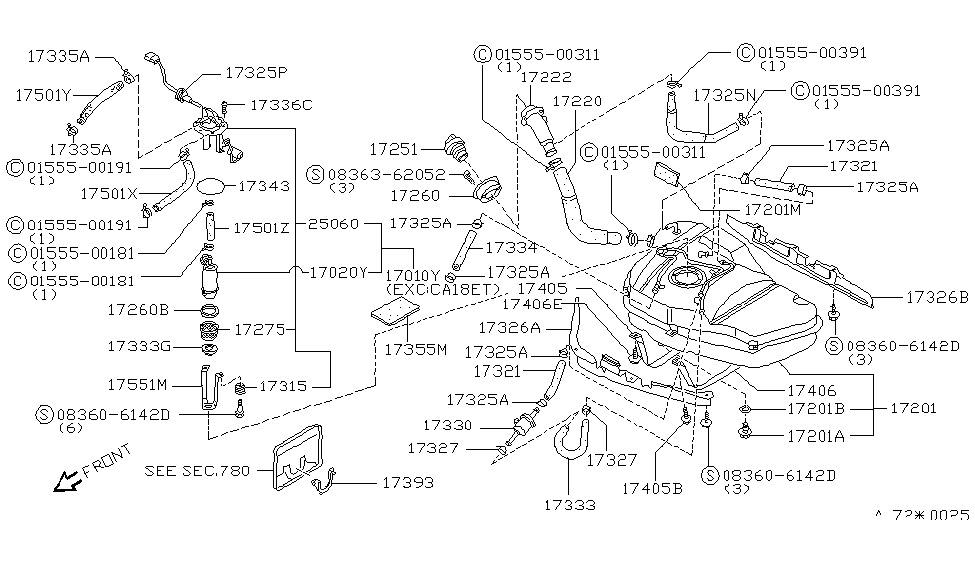 1987 Nissan 200sx Fuse Diagram - Wiring Diagram Schema