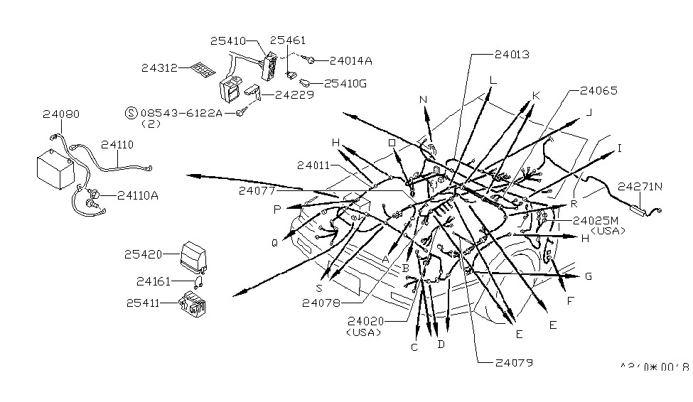 1987 Nissan 200sx Fuse Diagram