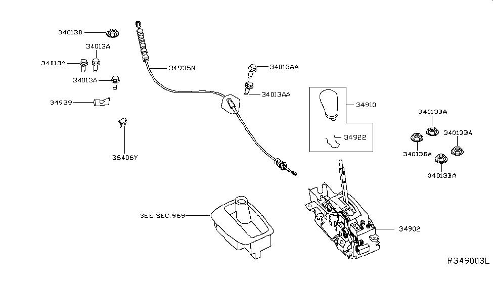 2014 Nissan Pathfinder Hybrid Auto Transmission Control Device