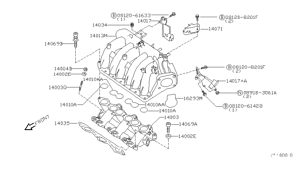 1999 nissan quest manifold nissan parts deal