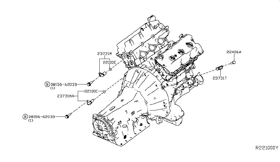 2006 Nissan Pathfinder Distributor & Ignition Timing Sensor