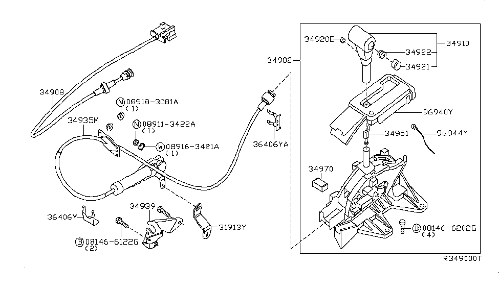 2008 nissan pathfinder wiring diagram 2008 nissan pathfinder auto transmission control device  2008 nissan pathfinder auto
