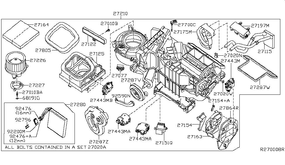 Nissan 27151-ZT00A
