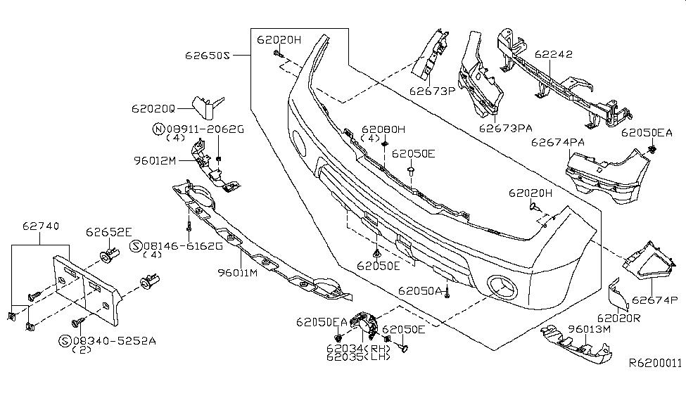 2006 nissan pathfinder parts manual