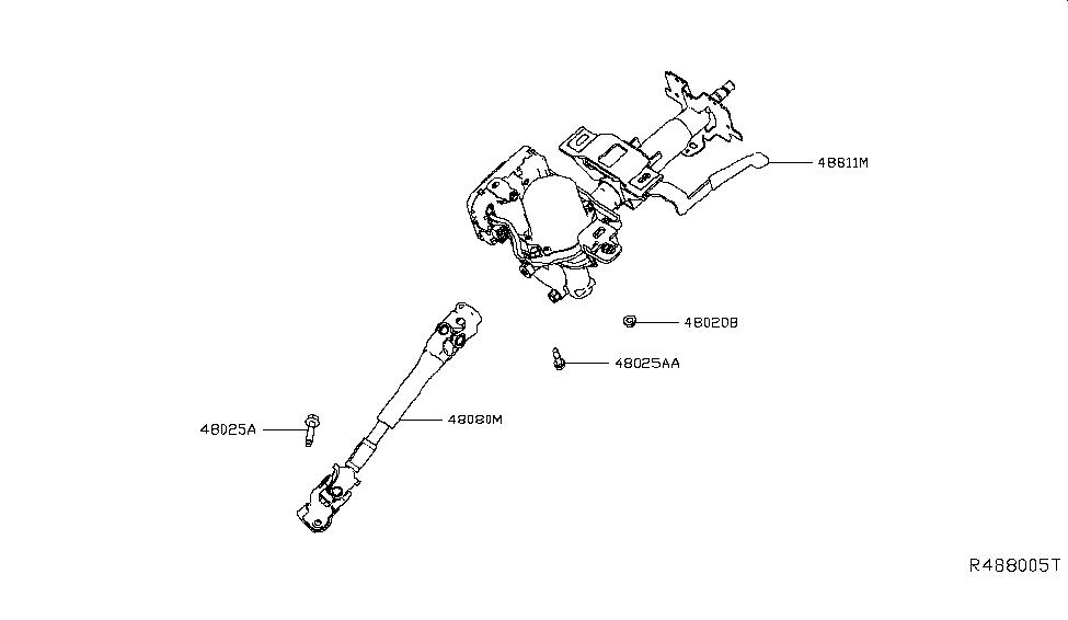 2018 Nissan Leaf Steering Column - Nissan Parts Deal