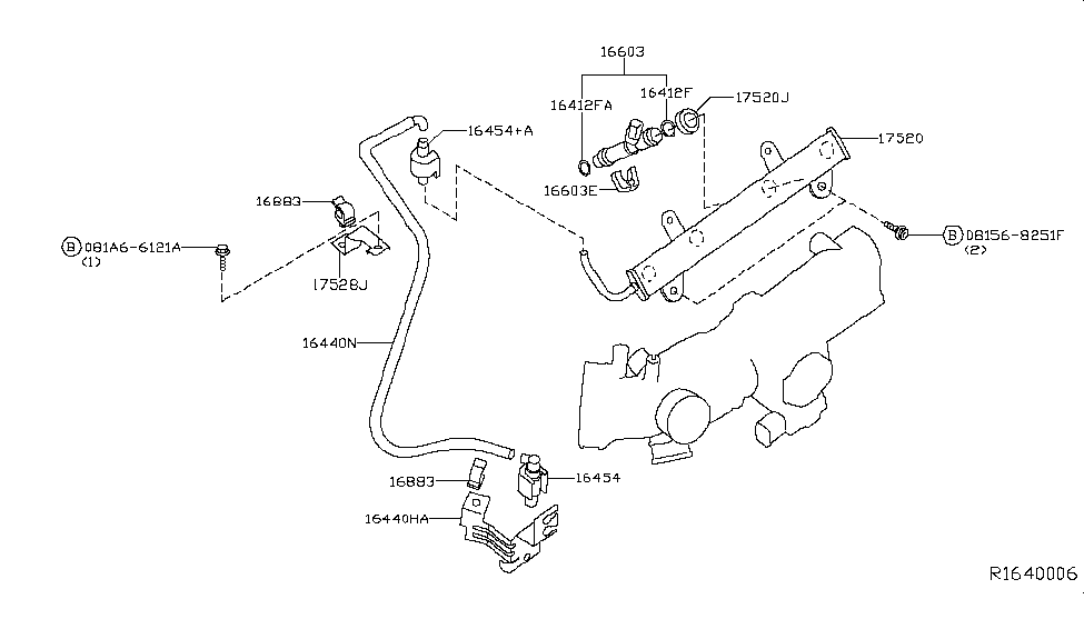 2003 nissan altima fuel strainer \u0026 fuel hose nissan parts deal 2006 Nissan Murano Exhaust System Diagram 2003 nissan altima fuel strainer \u0026 fuel hose thumbnail 1