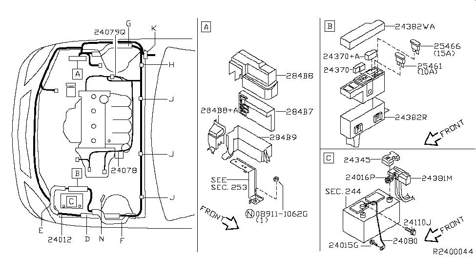 Wiring Diagram Nissan Altima 2005 - Wiring Diagram