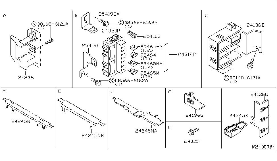 2005 nissan altima wiring nissan parts deal 05 Altima Exhaust Diagram