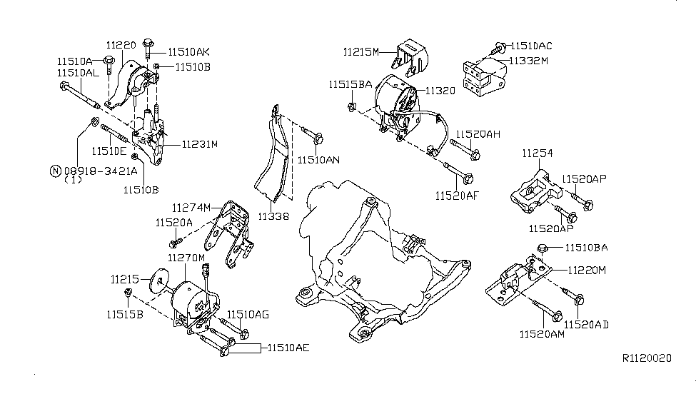 Nissan Altima 4 Cylinder Engine On Nissan Quest 1997 Engine Diagram
