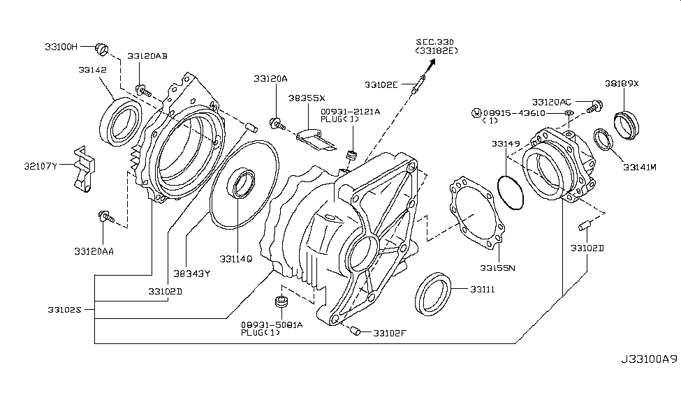 2003 Nissan Murano Alternator ~ Perfect Nissan