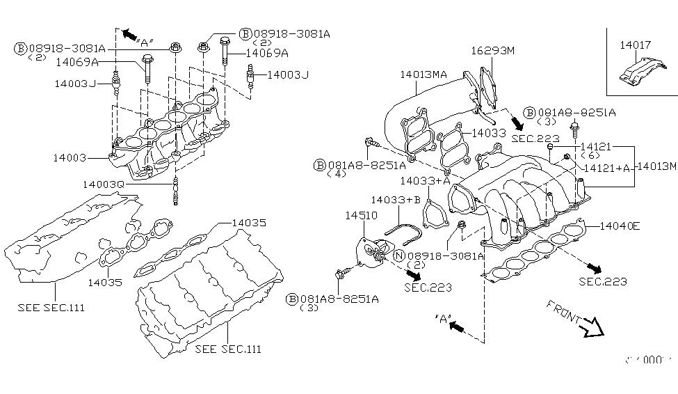 2004 nissan maxima engine diagram