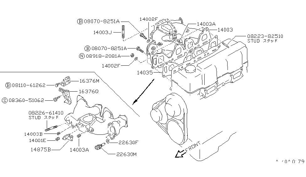 suzuki samurai transmission parts
