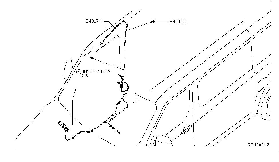 2016 nissan nv 1500 wiring nissan parts deal rh nissanpartsdeal com 2005 Nissan Altima Fuse Box Diagram 2001 Nissan Sentra Fuse Box Diagram