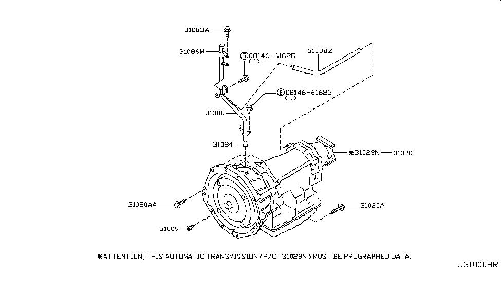 2003 nissan 350z auto transmission,transaxle \u0026 fitting  2003 nissan 350z auto transmission,transaxle \u0026 fitting thumbnail 1