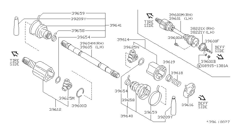 Nissan 39600-35F00