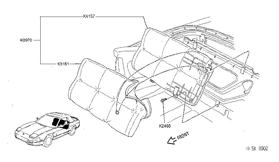 Nissan K3161-6X101