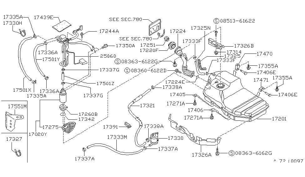 1990 nissan 240sx fuel tank nissan parts deal rh nissanpartsdeal com 240SX Steering Diagram 240SX Vacuum Diagram