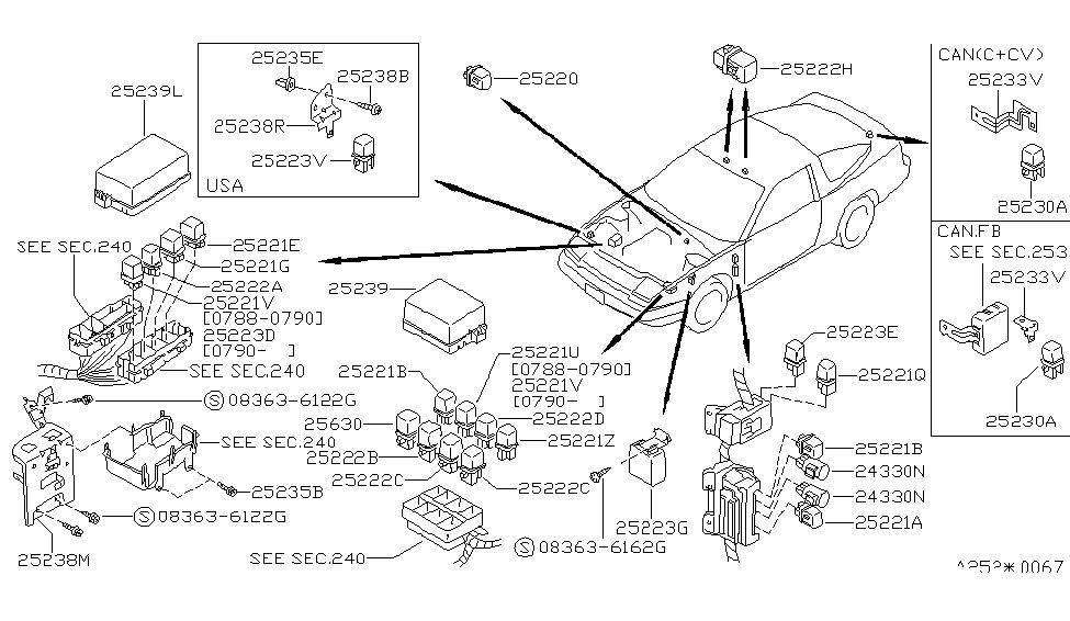 1993 Nissan 300zx Wiring Diagram