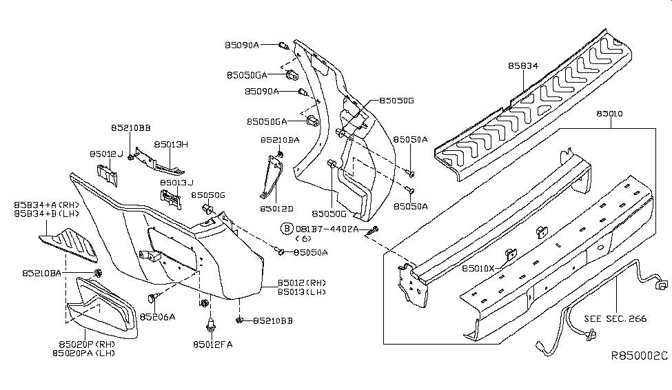 2007 Xterra Parts Diagram