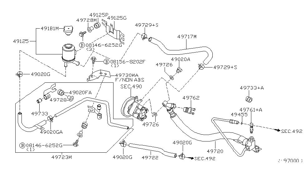 49717-5M200 - Genuine Nissan Parts