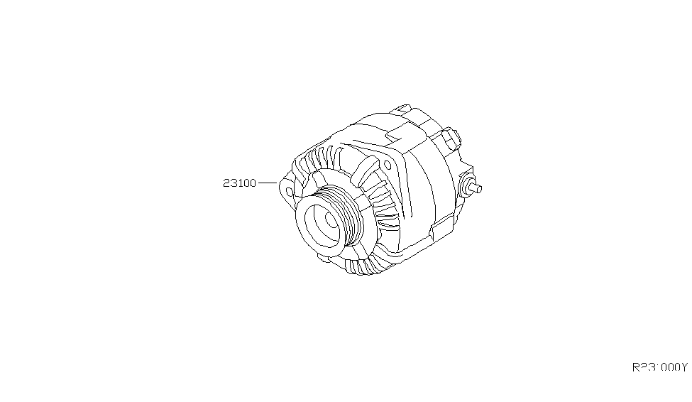 2005 Nissan Sentra Alternator ~ Perfect Nissan