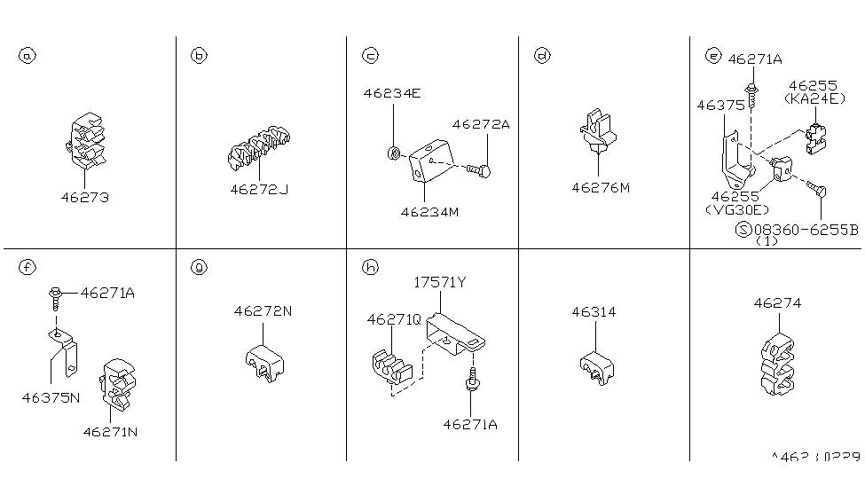Nissan 46364-55G00