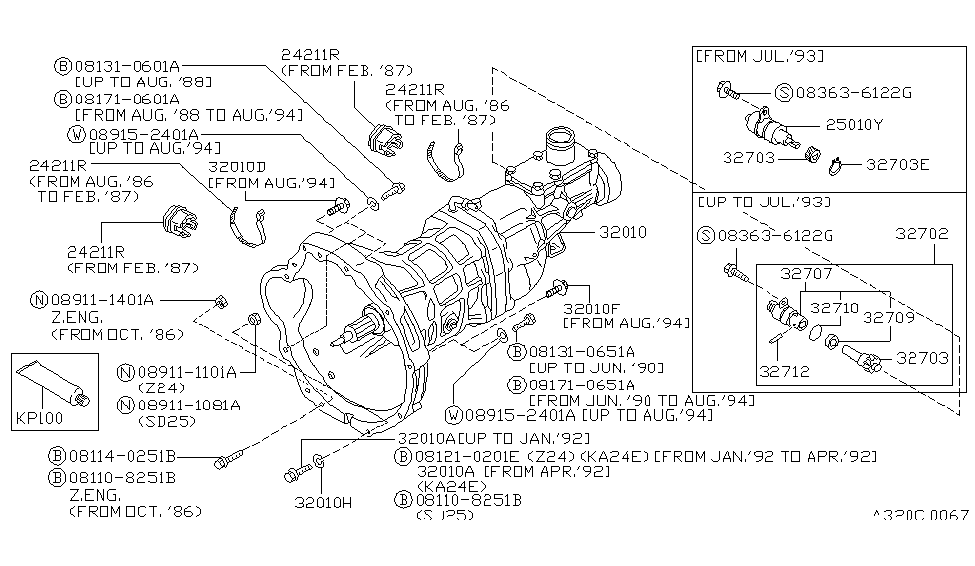 26 Nissan D21 Transmission Diagram