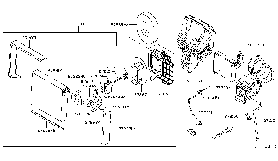 2010 Nissan Rogue Cooling Unit - Nissan Parts Deal