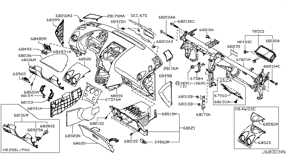 Wiring Diagram Nissan Rogue : Nissan rogue parts diagram wiring for free